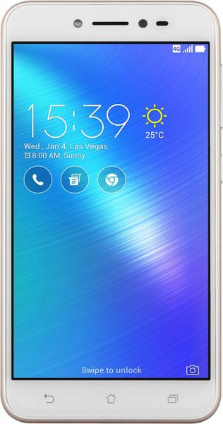 Смартфон Asus ZenFone Live 2-16 Gb gold ZB501KL-4G034A, мініатюра №1