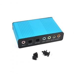 Внешняя звуковая карта Digital USB 5.1 оптический S/PDIF вход/выход (AC-USB-5.1-TOSLINK)