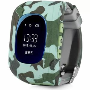 Детские умные часы UWatch Q50 Kid smart watch Light Military (F_53047)