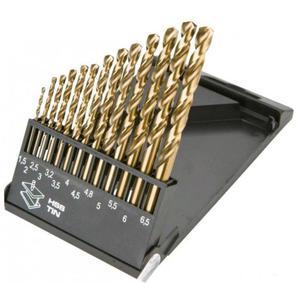 Сверло Graphite HSS-TiN 1.5-6.5 мм, 13 шт (57H198)