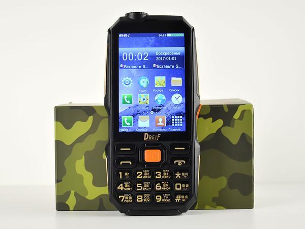 Мобильный телефон Dbeif D2017 Black, мініатюра №2