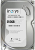 """Внутрішній жорсткий диск I.norys 250ГБ 5900 обертів в хвилину 8МБ 3.5"""" SATA II INO-IHDD0250S2-D1-5908, мініатюра №1"""