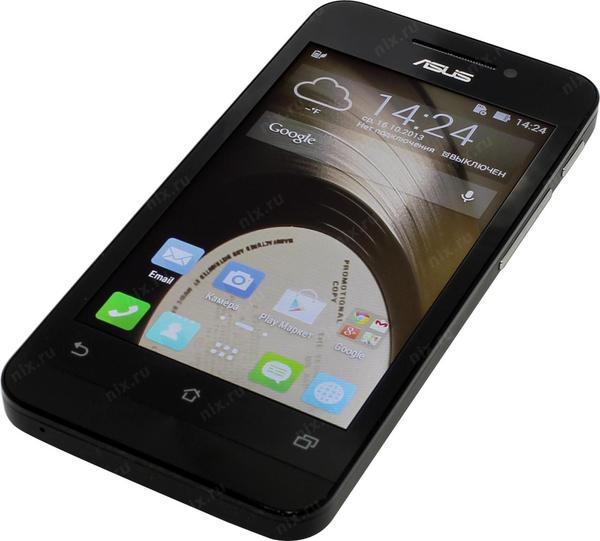 Смартфон Asus ZenFone 4 1-8 Gb black A400CG, мініатюра №5