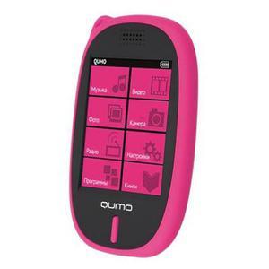 MP3-плеер QUMO SENS 4Gb Pink (SENS 4Gb Pink)
