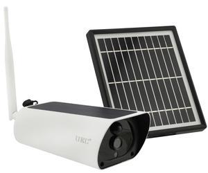 IP камера видеонаблюдения UKC Y9 2 mp с солнечной панелью Wi-Fi par_Y9 7585