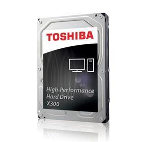 Внутрішній жорсткий диск Toshiba HDD SATA 16.0TB X300 7200rpm 512MB HDWR31GUZSVA