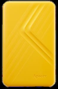 """Зовнішній жорсткий диск Apacer AC236 2TB 5400rpm 8MB AP2TBAC236Y-1 2.5"""" USB 3.1 External yellow"""