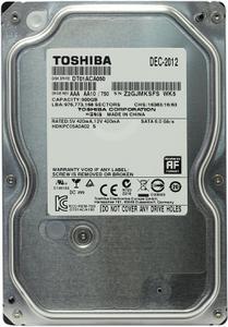 """Внутрішній жорсткий диск Toshiba 500ГБ 7200 обертів в хвилину 32МБ 3.5"""" SATA III DT01ACA050"""