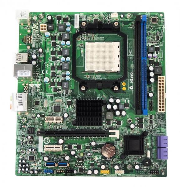 Материнська плата MSI MS-7713 ver 1.1 (Socket AM3, RX780, PCI-Ex16) (MS-7713), мініатюра №1