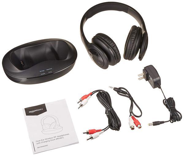 Навушники AmazonBasics Over-Ear (HS-RF02), мініатюра №5