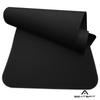 Коврик для фитнеса и йоги BeatsFit Beta Черный 3мм (BFK-020), мініатюра №1
