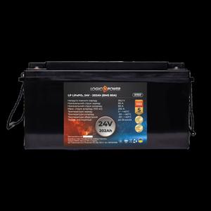 Акумулятор LP LiFePo-4 24 V 202 Ah BMS 80A пластик