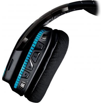 Навушники Logitech G933 Gaming Wireless (981-000599), мініатюра №3