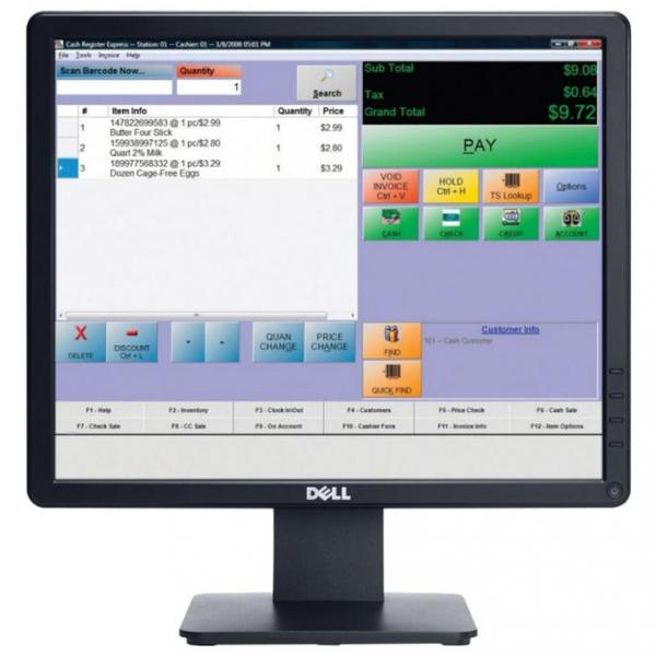 Монітор Dell E1715S TN 17'' SXGA 855-BBBG 210-AS, мініатюра №1