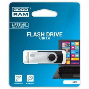 USB флеш-накопичувач Goodram 16GB Twister Black USB 2.0 (UTS2-0160K0R11)