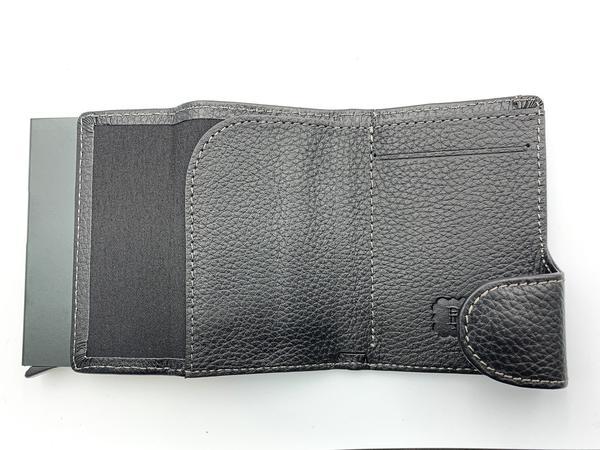 Гаманець Buono Leather Сardcase (02-7750 black), мініатюра №5