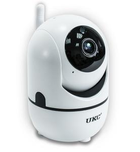 Поворотная WiFi IP камера видеонаблюдения для дома и квартиры UKC CAD Y13G Вай Фай видеонаблюдение