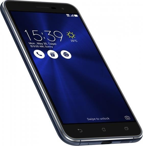 Смартфон Asus ZenFone 3 4-32 Gb sapphire black ZE520KL, мініатюра №3