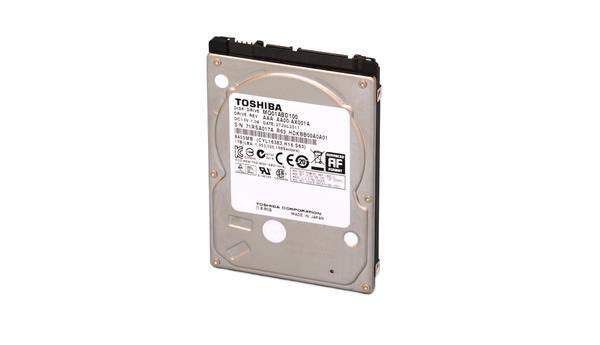 """Внутрішній жорсткий диск Toshiba 500ГБ 5400 обертів в хвилину 8МБ 2.5"""" SATA II MQ01ABD050V, мініатюра №3"""