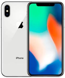 Смартфон Apple iPhone X 256 Gb silver