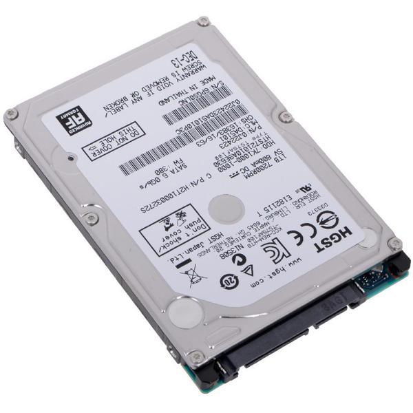 """Внутрішній жорсткий диск WDC Hitachi HGST 2.5"""" 1TB 0J22423 HTS721010A9E630, мініатюра №3"""