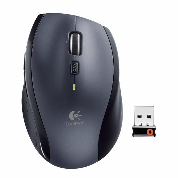 Мишка Logitech M705 Marathon Wireless Black (910-001949), мініатюра №2