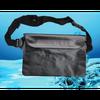 Водонепроницаемая черная сумка чехол LAVKA  для денег телефона документов, мініатюра №2