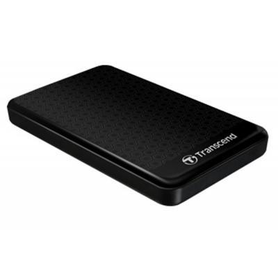 """Зовнішній жорсткий диск Transcend 2ТБ 2.5"""" USB 3.0 чорний TS2TSJ25A3K, мініатюра №2"""
