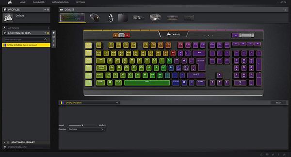 Клавіатура Corsair  Gaming K95 (CH-9127014-NA), мініатюра №7