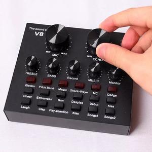Внешняя звуковая карта v8 с Bluetooth 965