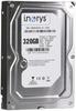 """Внутрішній жорсткий диск I.norys 320ГБ 7200 обертів в хвилину 8MB 3.5"""" SATA II INO-IHDD0320S2-D1-7208, мініатюра №1"""