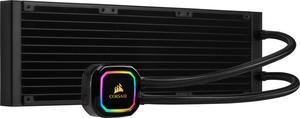 Система водяного охлаждения Corsair iCUE H150i RGB Pro XT (CW-9060045-WW), Intel 2011/2066/1151/1150/1155/1156/1200/1366, AMD AM4/AM3/AM2/TRX4/TR4, 397х120х27 мм