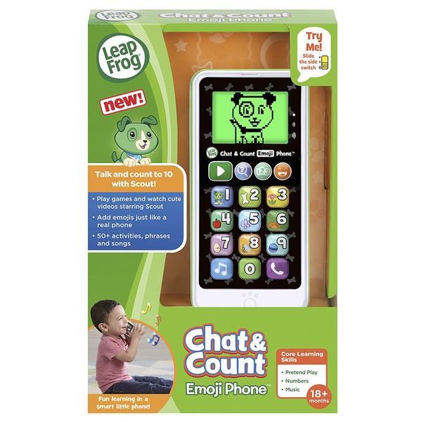 Телефон LeapFrog Chat and Count Emoji, мініатюра №1