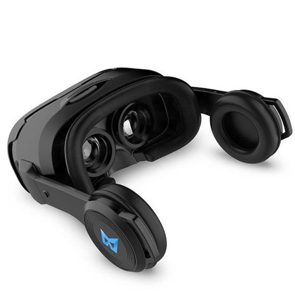 3D Очки шлем виртуальной реальности Baidroid UGP U8 c джойстиком Terios T3 Черный, мініатюра №3