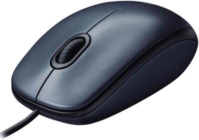 Мышь Logitech M90 (910-001794) черная USB