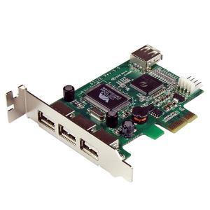 Интерфейсный адаптер StarTech.com  PEXUSB4DP (PEXUSB4DP)
