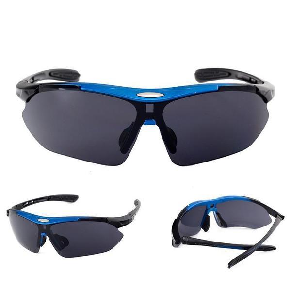 Очки для велосипедистов ROBESBON GLASS-20, мініатюра №3
