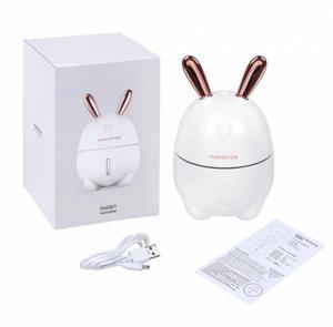 Увлажнитель воздуха и ночник 2 в 1 Usams Humidifier Rabbit белый