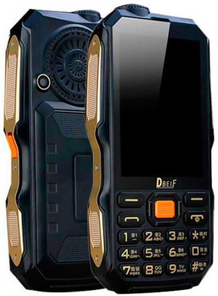 Мобильный телефон Dbeif D2017 Black, мініатюра №1