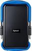 """Зовнішній жорсткий диск Apacer 1ТБ 2.5"""" USB 3.0 чорний синій AP1TBAC631U-1, мініатюра №1"""