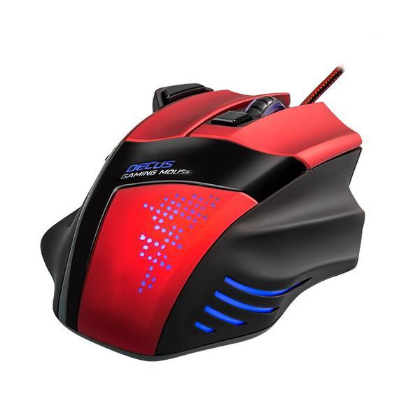 Мишка SPEEDLINK Decus G USB Black (SL-6397-BKBK-01), мініатюра №1